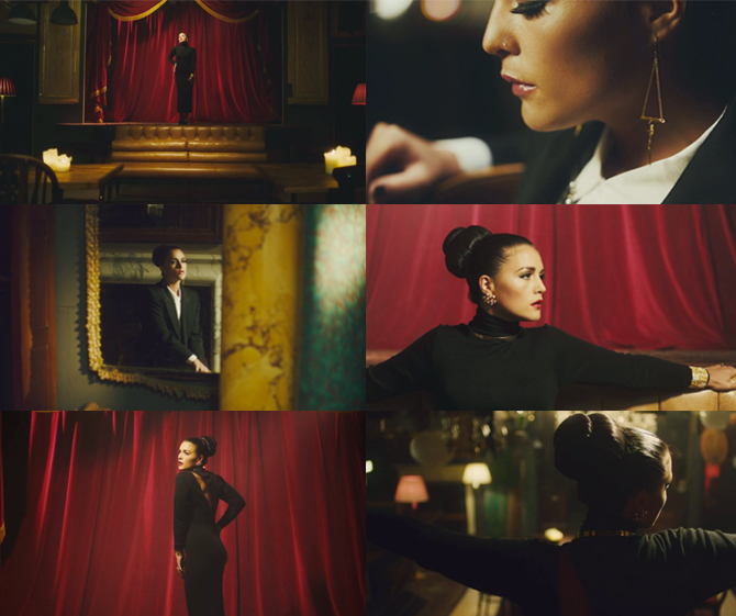 Jessie Ware Running Video Stills